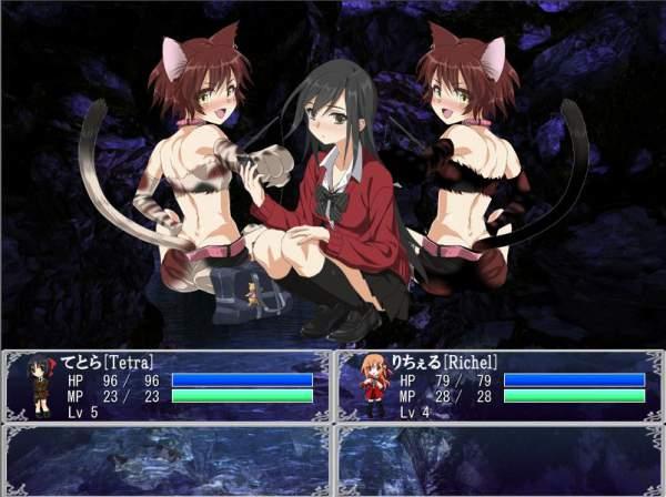 てとらのロザリオインペール -RPGは性癖を自由にカスタマイズする- 04