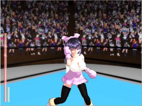 Ultimate Fighting Girl type B 勝った!