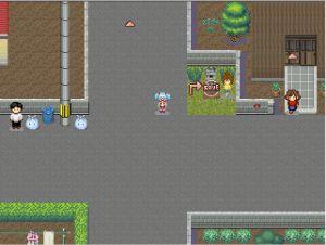 ドットアニメ町中探索ゲーム 続茜町物怪録01