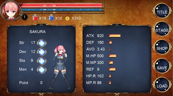 FIGHTING GIRL SAKURA-R03